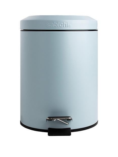 sabichi-3-litre-pedal-bin-ndash-powder-blue