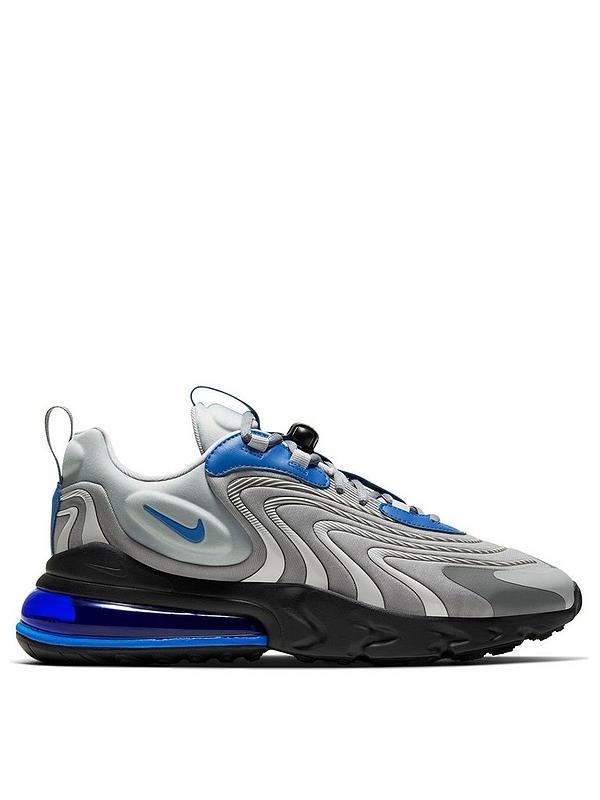 maggior parte meccanismo Esperienza  Nike Air Max 270 React - Grey/Blue | very.co.uk
