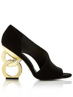 kat-maconie-cher-leather-chain-heel-peep-toe-high-heel-shoes-black