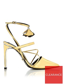kat-maconie-louise-metallic-leather-lace-up-high-heels-gold