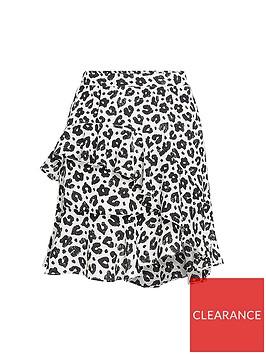 fabienne-chapot-lulu-leopard-print-ruffle-skirt-whiteblack