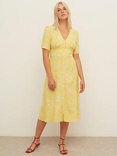 nobodys-child-alexa-midi-dress-mustard