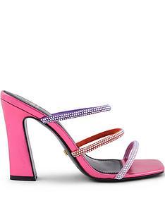 kat-maconie-le-clique-x-piraza-gemstone-strap-mules-pink