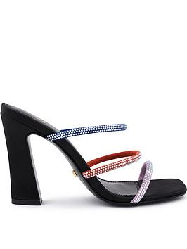 kat-maconie-le-clique-x-piraza-gemstone-strap-mules-black