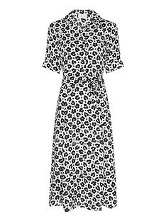 fabienne-chapot-brizo-leopard-print-shirt-dress-whiteblack