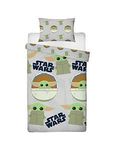 star-wars-the-mandalorian-the-child-face-single-duvet-cover-set