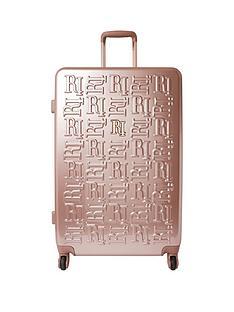 river-island-rosegold-large-hardshell-suitcase