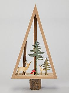 sass-belle-woodland-tree-standing-christmasnbspdecoration