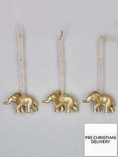 sass-belle-set-of-3-golden-elephant-christmas-tree-decorations