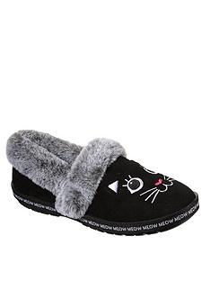 skechers-too-cozy-meow-full-slipper