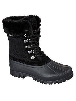 skechers-wisdom-lace-up-snow-calf-boot-black
