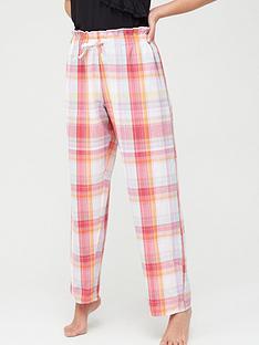pour-moi-cotton-check-paperbag-trousers-multinbsp