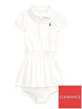 ralph-lauren-baby-girls-classic-short-sleeve-polo-dress--nbspwhite