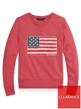 ralph-lauren-girls-embroidered-flag-crew-sweat-red