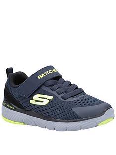 skechers-boys-flex-advantage-30-trainers-navy