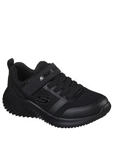 skechers-boysnbspbounder-zallow-trainer-black