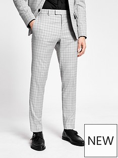 river-island-targaryen-check-skinny-fit-suit-trousers