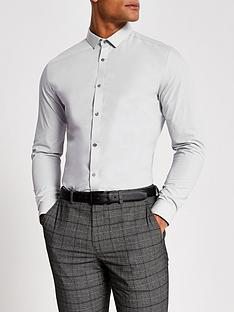 river-island-long-sleeve-slim-fit-shirt-light-grey