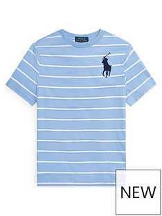 ralph-lauren-boys-short-sleeve-stripe-big-pony-t-shirt-blue