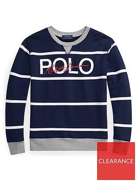 ralph-lauren-boys-stripe-polo-crew-sweat-navy