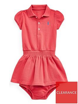ralph-lauren-baby-girls-classic-short-sleeve-polo-dress-red
