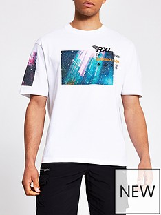 river-island-community-multi-print-t-shirt-white
