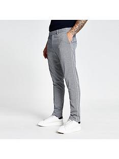 river-island-sansa-check-smart-trousers-grey
