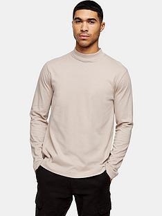 topman-longline-t-shirt-light-pink