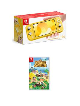 nintendo-switch-lite-nintendo-switch-lite-yellow-console-with-animal-crossing-new-horizon