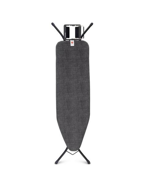 brabantia-ironing-board-b-with-black-denim-print-cover
