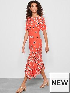 mint-velvet-juliet-puff-sleeve-midi-dress-red