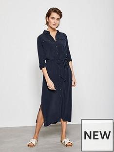 mint-velvet-pocket-detail-midi-shirt-dress-blue