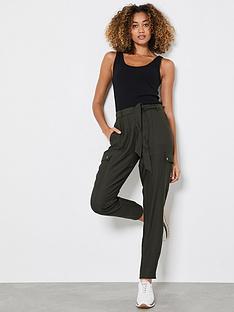 mint-velvet-belted-cargo-trousers-khaki