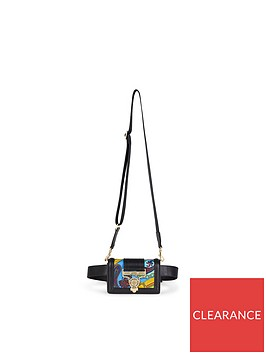 versace-jeans-couture-printed-leather-belt-bum-bag-black