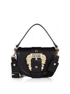 versace-jeans-couture-buckle-saddle-cross-body-bag-black