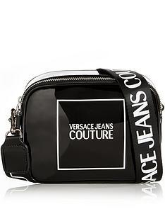 versace-jeans-couture-patent-logo-cross-body-camera-bag-black