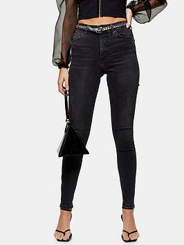 topshop-zip-hem-jamie-jeans-washed-black