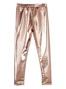 mintie-by-mint-velvet-girls-rose-gold-leggings-gold