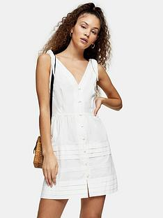 topshop-pintuck-button-down-mini-dress-ivory