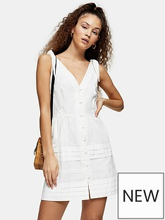 topshop-pintuck-button-down-mini-dress-ivory