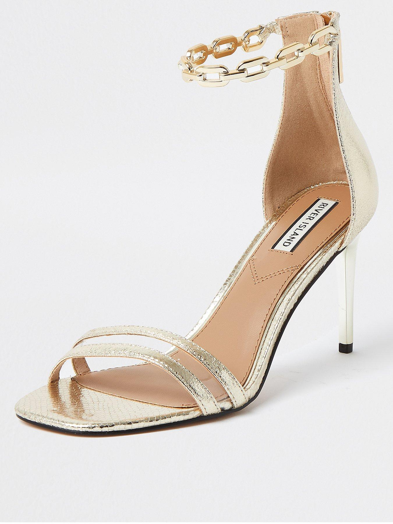 Gold | River island | Shoes \u0026 boots