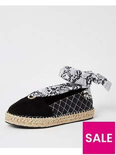 river-island-tie-up-espadrille-shoes-black