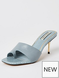 river-island-toe-loop-mule-sandal-light-blue