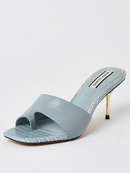river-island-toe-loop-mule-sandal-light-blue