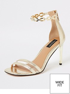 river-island-wide-fit-chain-ankle-barely-there-sandals-gold-gold