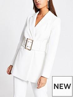 river-island-statement-belted-blazer-white