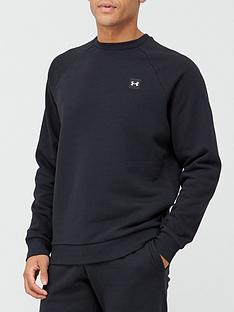 under-armour-trainingnbsprival-fleece-crew-black