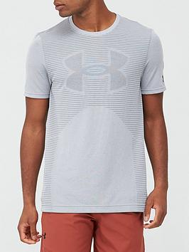 under-armour-seamless-logo-t-shirt-greyblack