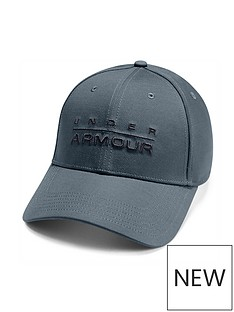 under-armour-wordmark-cap-grey