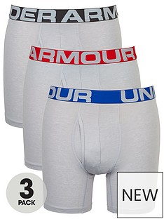under-armour-charged-cotton-6-inchnbsp3-pack-boxerjock-grey